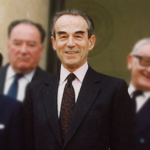 Portait de M. Robert Badinter